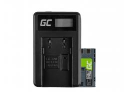 Green Cell ® Batteria NB-2L e Caricabatterie CB-2LW per Canon PowerShot G7 G9 S70 S80 R100 R11 Canon Elura 85 90