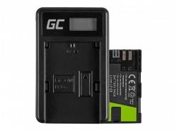 Green Cell ® Batteria LP-E6 e Caricabatterie LC-E6 per Canon EOS 70D, 5D Mark II/ III, 80D, 7D Mark II, 60D, 6D, 7D 7.4V 1600mAh