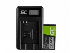 Green Cell ® Batteria NB-6L/6LH e Caricabatterie CB-2LY per Canon PowerShot SX510 HS, SX520 HS, SX530 HS, SX600 HS