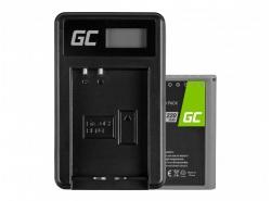 Green Cell ® Batteria BLN-1/BCN-1 e Caricabatterie BCN-1 per Olympus PEN-F, OM-D EM1, EM5, OM-D E-M5 Mark II