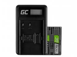 Green Cell ® Batteria BP-511 per Canon EOS 5D, 10D, 20D, 30D, 50D, D30, 300D, PowerShot G1, G2, G3, G5, Pro 1 7.4V 1600mAh