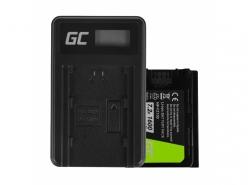 Green Cell Batteria NP-FZ100 e Caricabatterie BC-QZ1 per Sony Alpha 9 9R 9S A7 III A7R III A9 A9R