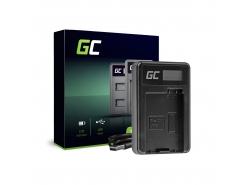 Caricabatterie Fotocamera LC-E8 Green Cell per Canon LP-E8 EOS Rebel T2i T3i T4i T5i EOS 600D 550D 650D 700D Kiss X5 X4 X6