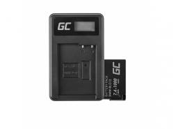 Green Cell Batteria DMW-BLC12 e Caricabatterie DE-A79B per Panasonic FZ2000, G81, FZ1000, FZ300, G6M, GX8M, G70M, G70KA, GX8