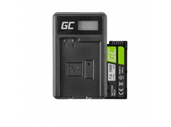 Green Cell ® Batteria NB-10L per Canon PowerShot G15, G16, G1X, G3X, SX40 HS, SX40HS, SX50 HS, SX60 HS 7.4V 800mAh