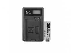 Green Cell ® Batteria LP-E8 e Caricabatterie LC-E8 per Canon Rebel T2i, T3i, T4i, T5i, EOS 600D, 550D, 650D, 700D, Kiss X5, X6