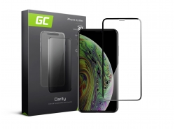 Green Cell PRO GC Clarity Pellicola Protettiva Vetro Temperato per iPhone XS Max