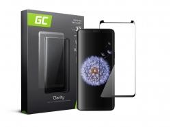 Vetro Temperato per Samsung Galaxy S9 Plus Pellicola Prottetiva GC Clarity Protezione Schermo 9H Durezza Alta qualità