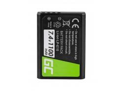 Green Cell ® Batteria LP-E10 per Canon EOS Rebel T3, T5, T6, Kiss X50, Kiss X70, EOS 1100D, EOS 1200D, EOS 1300D 7.4V 1100mAh