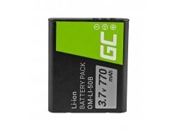Green Cell ® Batteria Li-50B per Olympus SZ-15 SZ-16 Tough 6000, 8000 TG-820 TG-830 TG-850 VR-370 XZ-1 XZ-10 3.7V 770mAh
