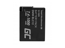 Green Cell ® Batteria DMW-BLC12 per Panasonic FZ2000, G81, FZ1000, FZ300, G6M, GX8M, G70M, G70KA, GX8EG-K, GX8 7.4V 1000mAh