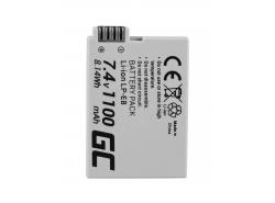 Green Cell ® Batteria LP-E8 per Canon EOS Rebel T2i, T3i, T4i, T5i, EOS 600D, 550D, 650D, 700D, Kiss X5, X4, X6 7.4V 1100mAh