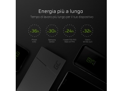 Power Bank Green Cell PRIME 10000mAh con tecnologia di ricarica rapida Ultra Charge