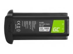 Batteria Green Cell ® NP-E3 per Canon EOS-1D Mark II EOS-1Ds Mark II EOS-1Ds EOS-1D Mark II N, Full Decoded 12V 1800mAh