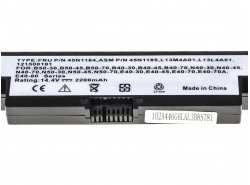 Green Cell ® Batteria L13S4A01 per Portatile Laptop Lenovo B40 B50 G550s N40 N50