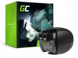Green Cell ® Batteriaper Metabo 6.27270 4.8V 2.1Ah