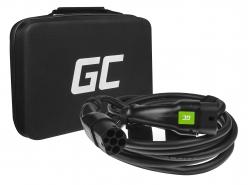 Cavo Green Cell GCev¹ Tipo 2 per caricare auto elettriche  (5m, 22kW,  32A, 3-fase)