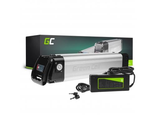 Green Cell® Batteria per Bicicletta Elettrica 24V 10.4Ah E-Bike Silverfish Li-Ion e Caricabatterie