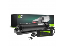 Green Cell® Batteria per Bicicletta Elettrica 36V 5.2Ah Bottiglia E-Bike Pedelec Li-Ion + Caricabatterie