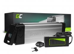 Accumulatore Batteria Green Cell Silverfish 24V 27.2Ah 653Wh per Bici Elettrica E-Bike Pedelec
