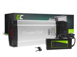 Accumulatore Batteria Green Cell Rear Rack 36V 8.8Ah 317Wh per Bici Elettrica E-Bike Pedelec