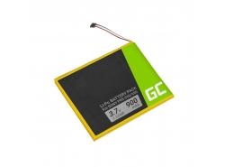 Green Cell ® Batteria 1-853-016-11 per Sony Portable Reader PRS-350 PRS-350SC PRS-650 PRS-650BC PRS-650RC E-book capacità 900mAh