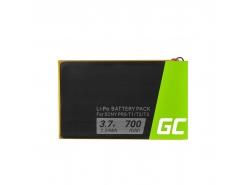 Green Cell ® Batteria 1-853-104-11 LIS1476 per Sony Reader PRS-T1 PRS-T2 PRS-T3 PRS-T3E PRS-T3S, E-book capacità 700mAh