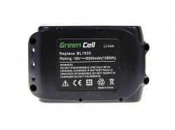 Batteria per avvitatore BL1830 BL1860 per Makita BDF450SFE BTL061RF BTW450RFE 6000mAh