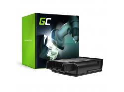Green Cell ® Batteria Aspirapolvere per Karcher KM 35/5 C 1.5 Ah 18V