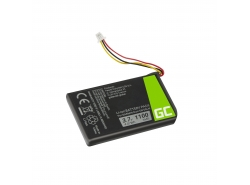 Batteria Green Cell ® 361-00056-01 per Garmin Nuvi 53 53LMT 55 55LM 56 65 65LM 66 66LM, Li-Ion Celle 1100mAh 3.7V