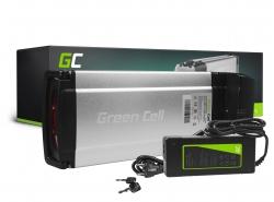 Green Cell® Batteria per Bicicletta Elettrica 36V 12Ah Rear Rack E-Bike Pedelec Li-Ion e Caricabatterie