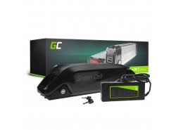 Green Cell® Batteria per Bicicletta Elettrica 36V 12Ah Down Tube E-Bike Pedelec Li-Ion Batteria e Caricabatterie