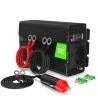 Green Cell® Convertitore di tensione Inverter DC 12V a AC 230V 300W/600W Onda Sinusoidale Pura