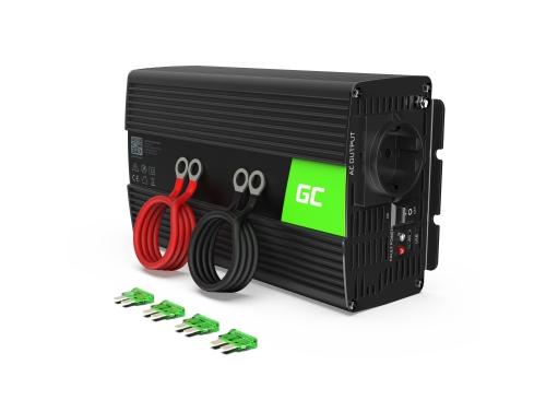 Green Cell® Convertitore di tensione Inverter DC 12V a AC 230V 1000W/2000W