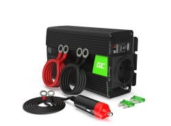 Green Cell® 500W/1000W Invertitore Onda Pura DC 12V AC 230V Convertitore di tensione
