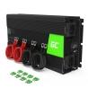 Green Cell® Convertitore di tensione Inverter DC 24V a AC 230V 2000W/4000W Onda Sinusoidale Pura