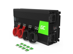 Green Cell® 3000W/6000W Invertitore Onda Pura DC 24V AC 230V Convertitore di tensione