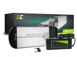 Accumulatore Batteria Green Cell Rear Rack 36V 10Ah 360Wh per Bici Elettrica E-Bike Pedelec