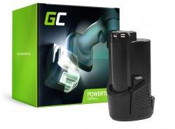 Green Cell® Batteria (2.5Ah 12V) 5130200008 BSPL1213 B-1013L per Ryobi RCD12011L RMT12011L RRS12011L BB-1600 BHT-2600