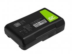 Batteria Green Cell V-Mount per Sony BP-95W 6600mAh 95Wh 14,4V