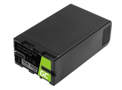 Batteria Green Cell BP-U90 BP-U60 BP-U30 per Sony 5200mAh 75Wh 14.4V