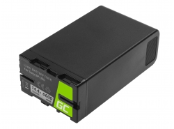 Batteria Green Cell BP-U90 BP-U60 BP-U30 per Sony 6600mAh 95Wh 14.4V