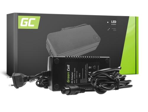Green Cell ® Caricabatteria per Bicicletta Elettrica, Spina: 3 Pin, 29.4V, 2A