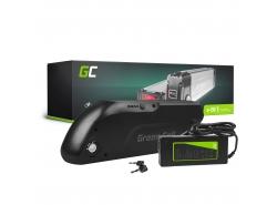 Accumulatore Batteria Green Cell Down Tube 36V 13Ah 468Wh per Bici Elettrica E-Bike Pedelec