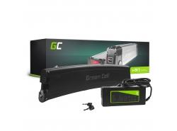 Accumulatore Batteria Green Cell Frame Battery 36V 7.8Ah 281Wh per Bici Elettrica E-Bike Pedelec