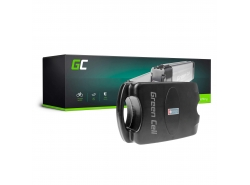 Green Cell® E-Bike Akku 24V 10.4Ah Li-Ion Pedelec Frog Type Batterie mit Ladegerät
