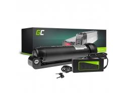 Green Cell® E-Bike Akku 24V 7.8Ah Li-Ion Pedelec Bottle Batterie mit Ladegerät