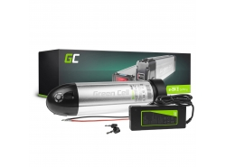 Green Cell® E-Bike Akku 36V 8.8Ah Li-Ion Pedelec Bottle Batterie mit Ladegerät