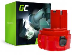 Batteria Green Cell (3Ah 12V) 1220 1222 1233 1234 PA12 per Makita 1050D 4000 6227D 6270D 6271D 6313D 6317D 8271D Celma WAK 12