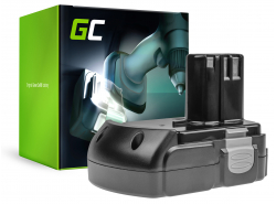 Green Cell ® Akku für Hitachi BCL1830 BCL1815 EBM1830 327730 18V 2.5Ah